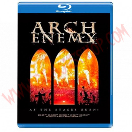Blu-Ray Arch Enemy - As the stage burn!
