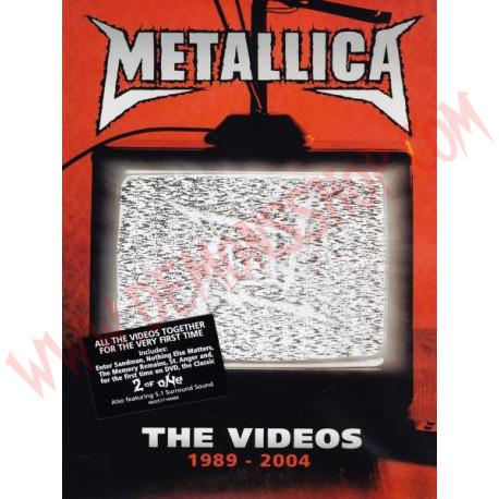 DVD Metallica - The Videos