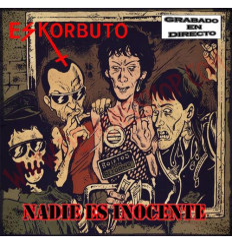PACK Camiseta y CD Eskorbuto - Nadie es inocente