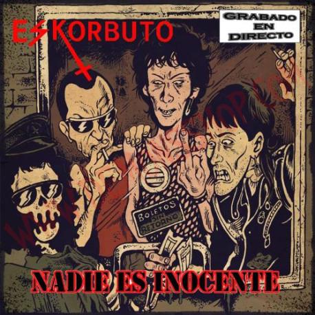 PACK Camiseta Fanzine y CD Eskorbuto - Nadie es inocente