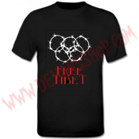 Camiseta MC Free Tibet Espinas OFERTA