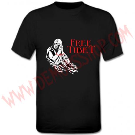 Camiseta MC Free Tibet Buda OFERTA