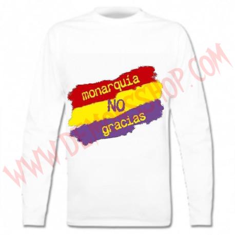 Camiseta ML Monarquia no Gracias OFERTA