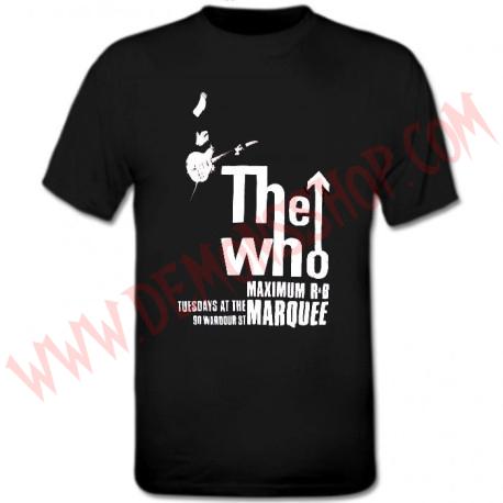 Camiseta Niño MC The Who OFERTA