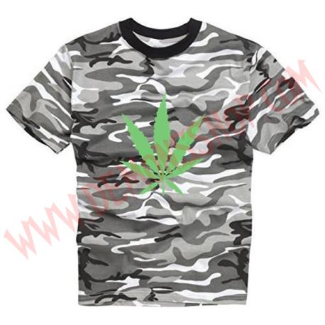 Camiseta MC Marihuana Urban OFERTA