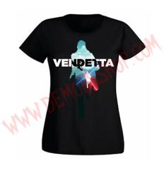 Camiseta Chica MC Vendetta