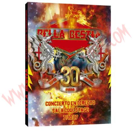 DVD Bella Bestia - 30 aniversario lista para matar