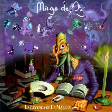CD Mago de Oz - la leyenda de la mancha