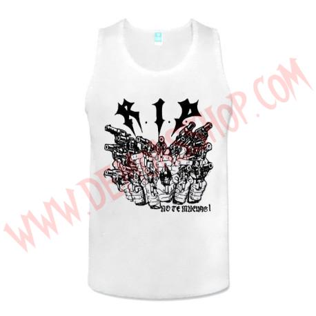 Camiseta SM RIP (Blanca)