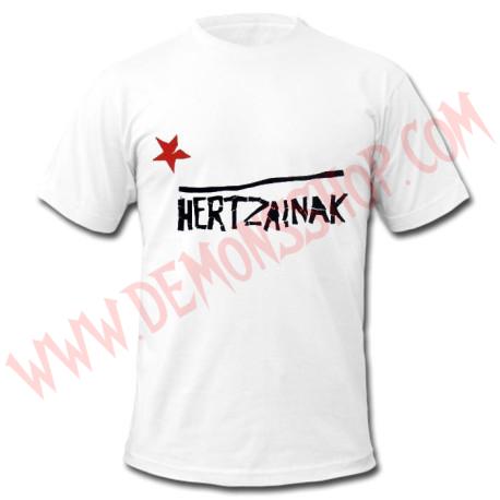 Camiseta MC Hertzainak (Blanca)