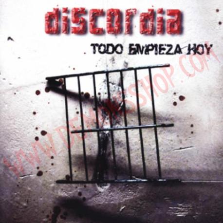 CD Discordia – Todo Empieza Hoy