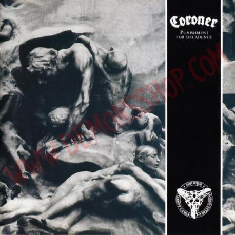 Vinilo LP Coroner - Punishment For Decadence