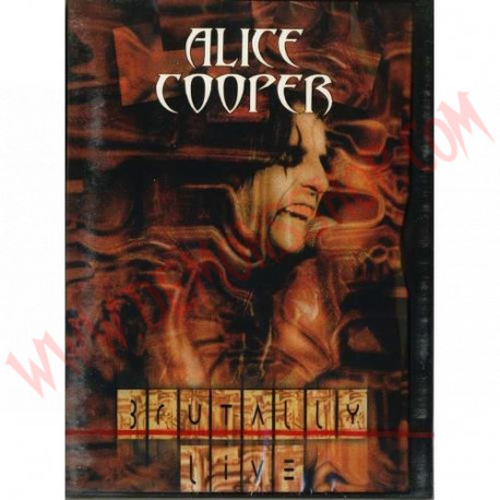 DVD Alice Cooper – Brutally Live