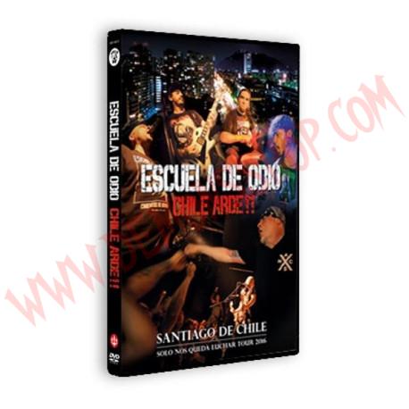 DVD Escuela de Odio - Chile Arde!!