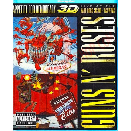 Blu-Ray Guns N' Roses – Appetite For Democracy 3D