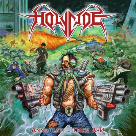 Vinilo LP Holycide – Annihilate....then ask