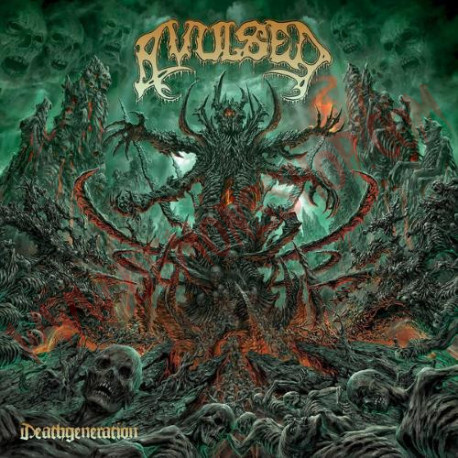 Vinilo LP Avulsed – Deathgeneration