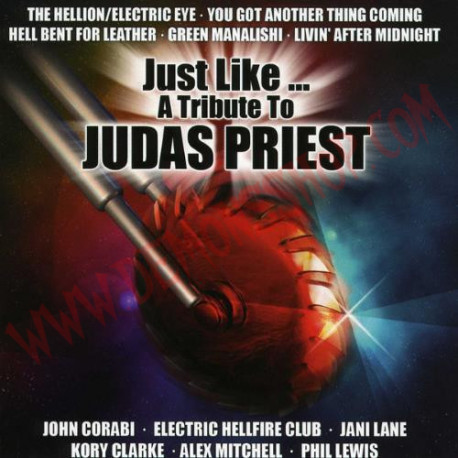 CD Just Like A Tribute To Judas Priest