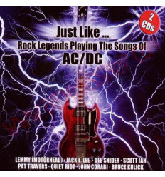 CD Just Like Rock Legends Playing The Songs Of AC/DC