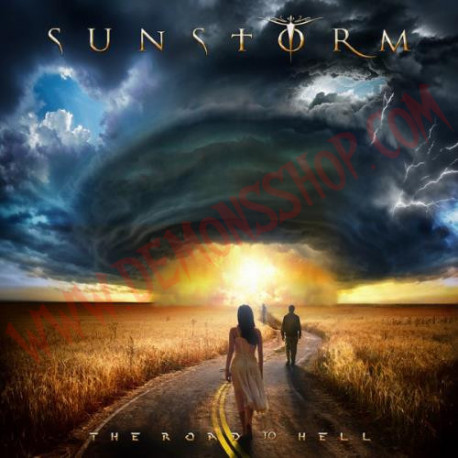 Vinilo LP Sunstorm – The Road To Hell