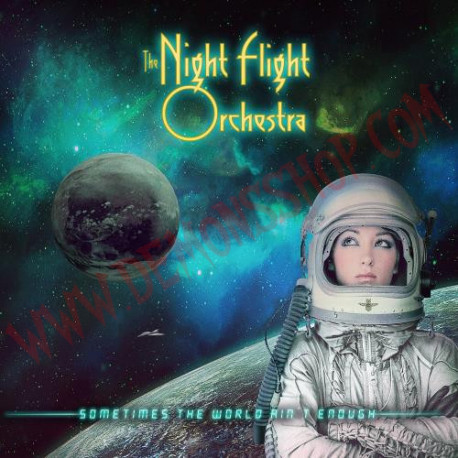Vinilo LP The Night Flight Orchestra - Sometimes the world ain't enough