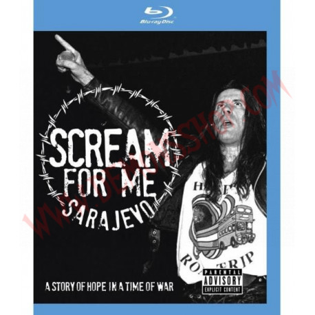 Blu-Ray Bruce Dickinson - Scream For Me Sarajevo