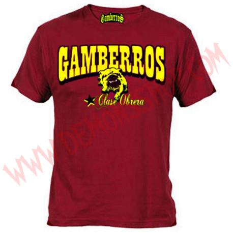 Camiseta MC Gamberros Bulldog