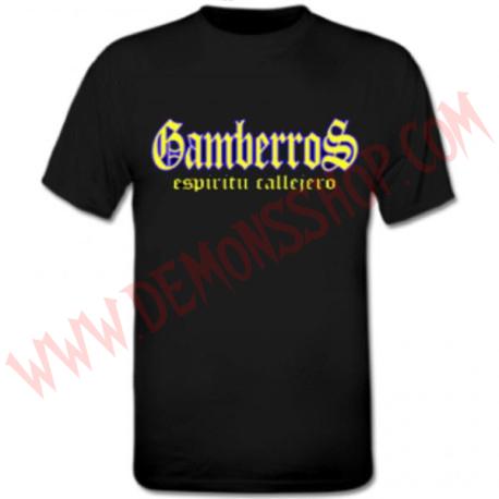 Camiseta MC Gamberros Espiritu callejero