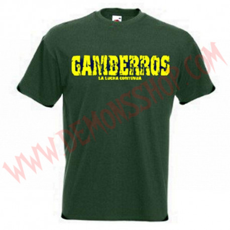 Camiseta MC Gamberros La lucha continua