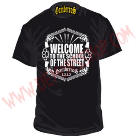 Camiseta MC Gamberros Welcome