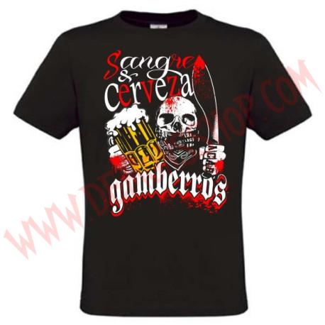 Camiseta MC Gamberros Sangre y Cerveza