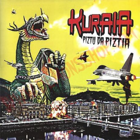Vinilo LP Kuraia – Piztu Da Piztia