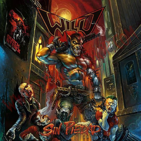 CD Wild - sin piedad