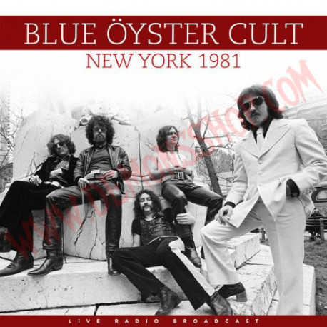 Vinilo LP Blue Öyster Cult – Best of Live in New York 1981