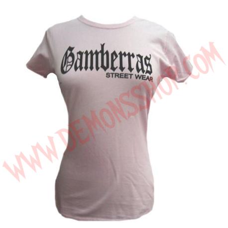 Camiseta MC Chica Gamberras Street Wear (Rosa)