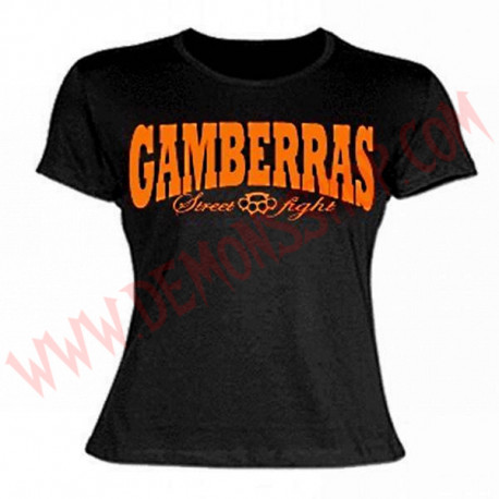 Camiseta MC Chica Gamberras Street fight