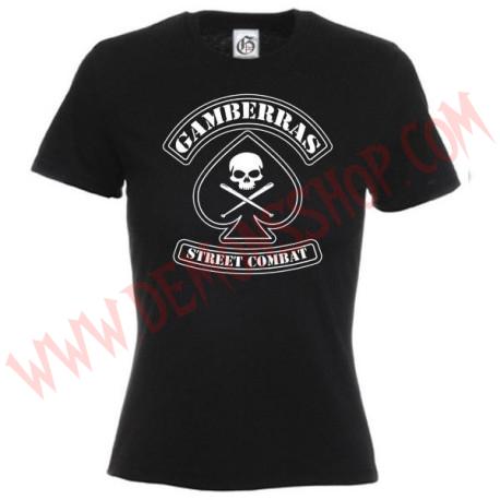 Camiseta MC Chica Gamberras Street combat