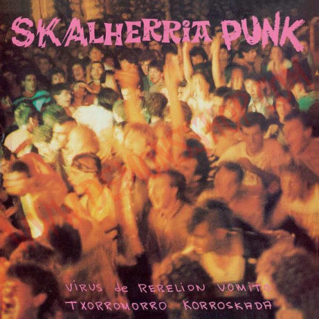 Vinilo LP Skalherria Punk