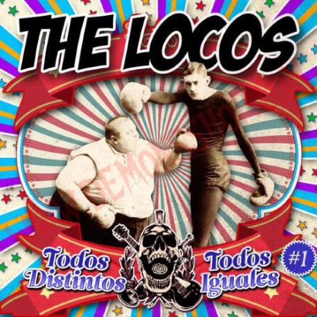 CD The Locos - Todos Distintos, Todos Iguales