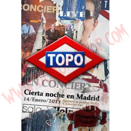 DVD Topo – Cierta Noche En Madrid
