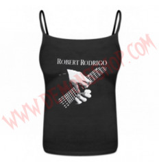 Camiseta Chica Tirantes Robert Rodrigo