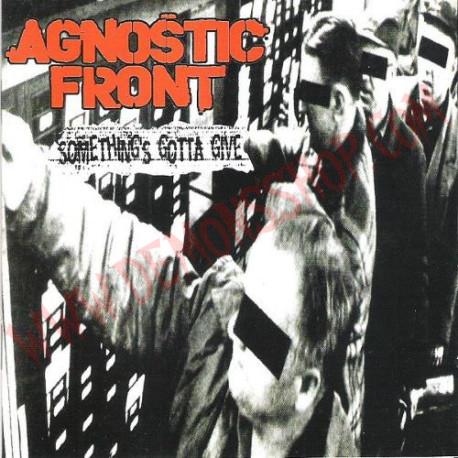 Vinilo LP Agnostic Front – Something's Gotta Give