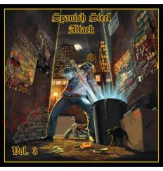CD Spanish Steel Attack Vol 3