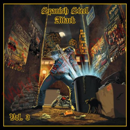 CD Spanish Steel Attack Vol 3