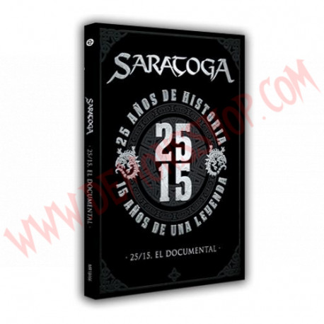 DVD Saratoga - 25/15, El Documental