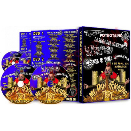 DVD Me Dan Arkadas Fest V