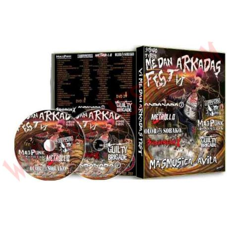 DVD Me Dan Arkadas Fest VI