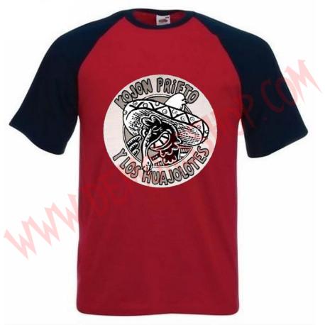 Camiseta Raglan MC Kojón Prieto y los Huajolotes