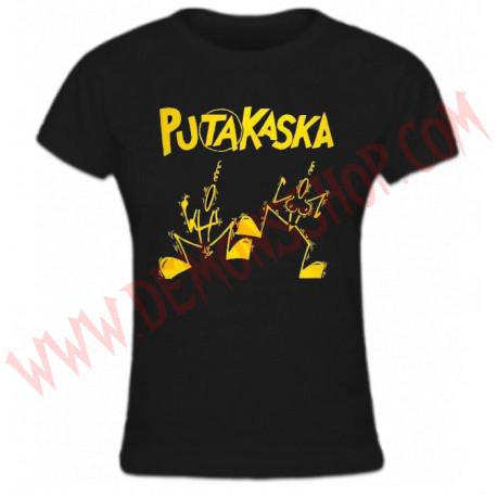 Camiseta Chica MC Putakaska