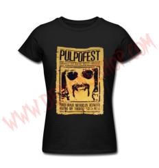Camiseta Chica MC PulpoFest